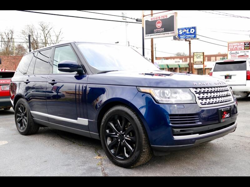 Land Rover Range Rover 3.0L V6 Supercharged HSE 2016