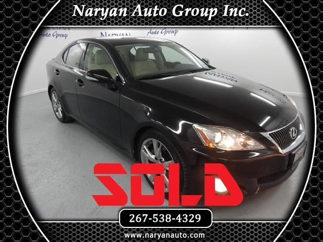 2009 Lexus IS IS 250 6-Speed Sequential