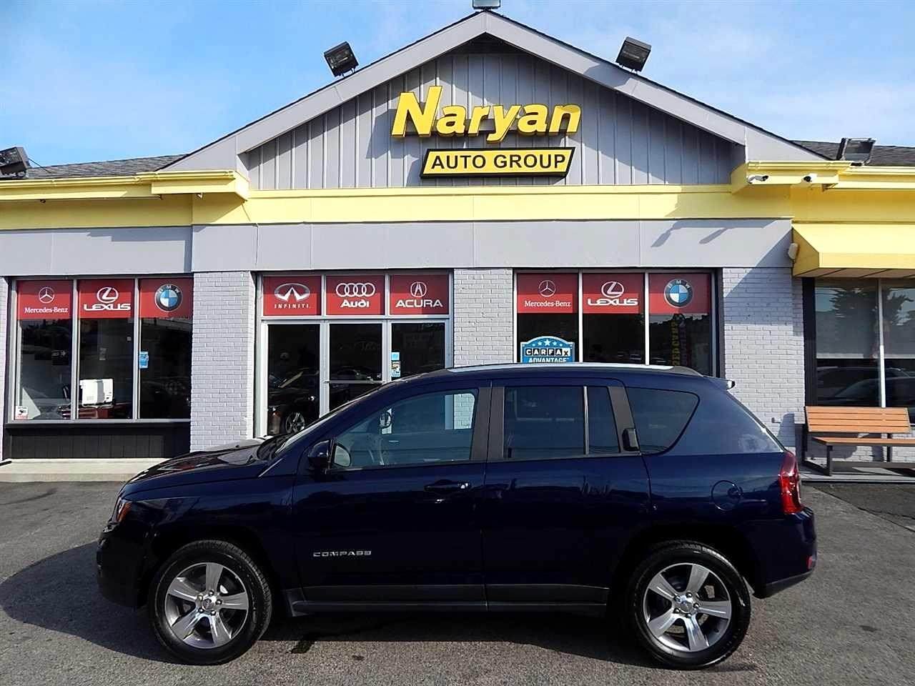 2016 Jeep Compass Utility 4D High Altitude 4WD