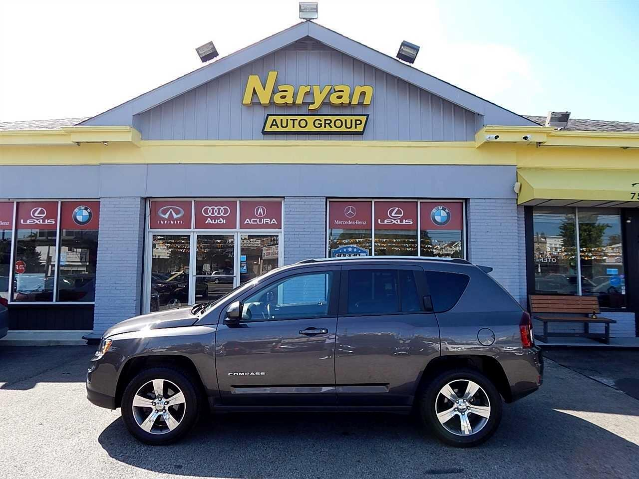 2017 Jeep Compass Utility 4D High Altitude 4WD