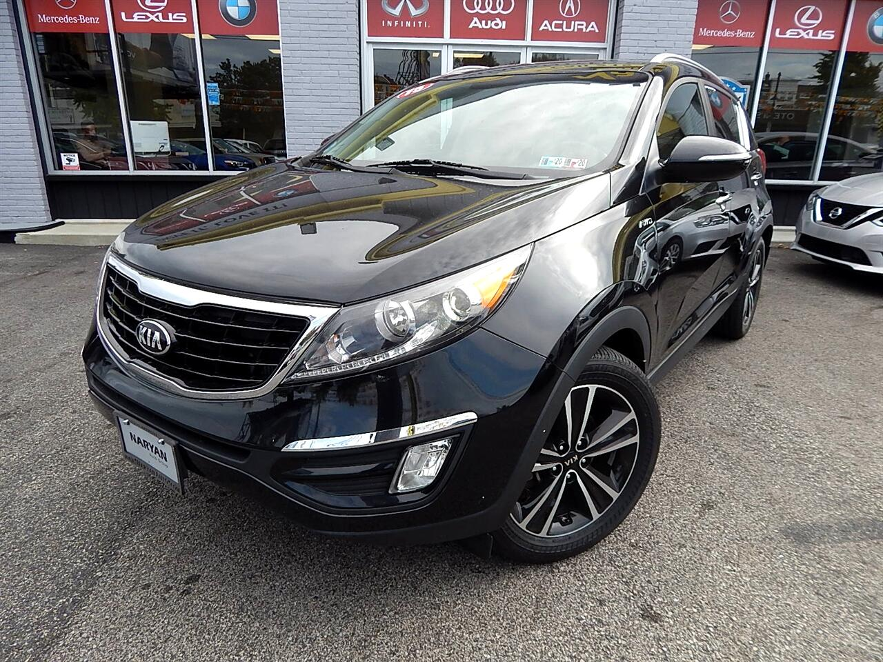 2015 Kia Sportage SX AWD Turbo