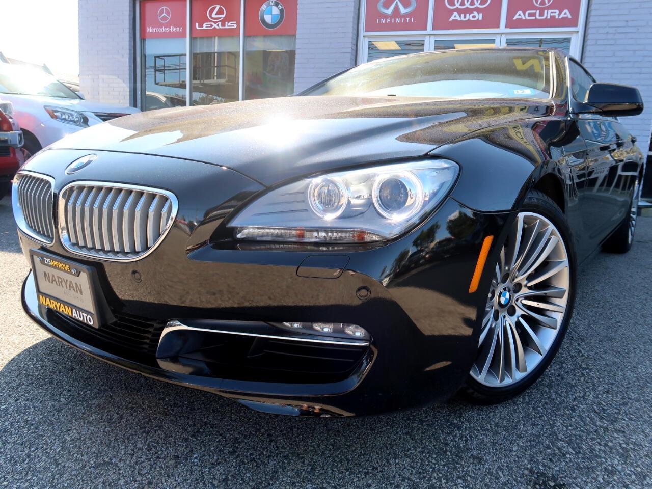 BMW 6-Series Gran Coupe  2014