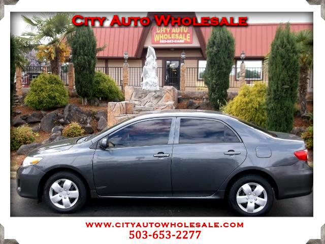 2012 Toyota Corolla L 4-Speed AT