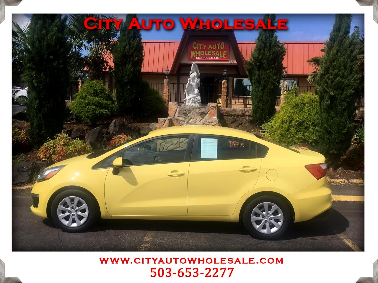 Used 2016 Kia Rio LX 6A for Sale in Milwaukie OR 97222 City