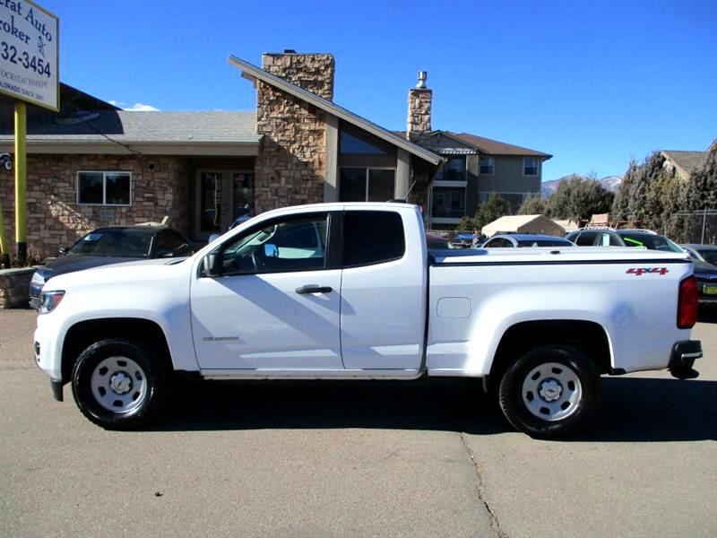 "2015 Chevrolet Colorado 4WD Ext Cab 128.3"" WT"