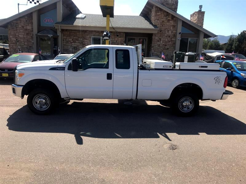 2012 Ford Super Duty F-350 SRW XL 4WD SuperCab 8' Box