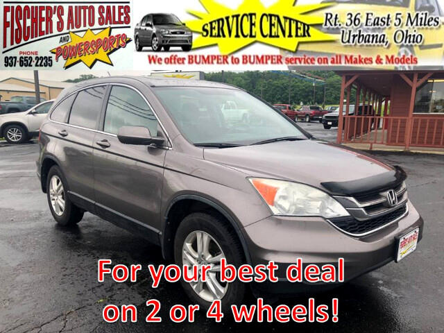 2011 Honda CR-V EX 4WD 5-Speed AT