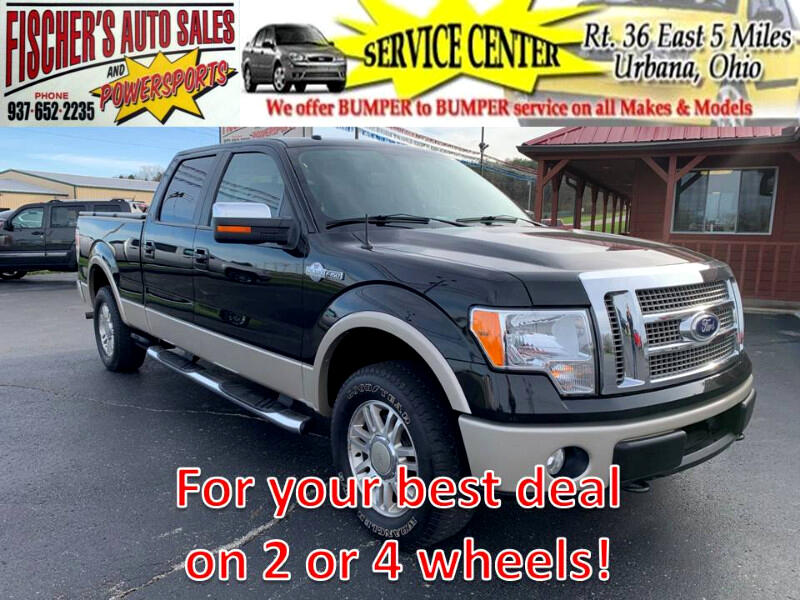 "2010 Ford F-150 SuperCrew Crew Cab 139"" King Ranch 4WD"
