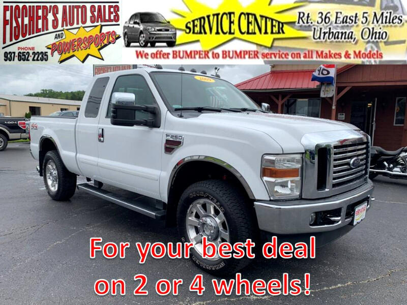2009 Ford F-250 SD Lariat SuperCab 4WD