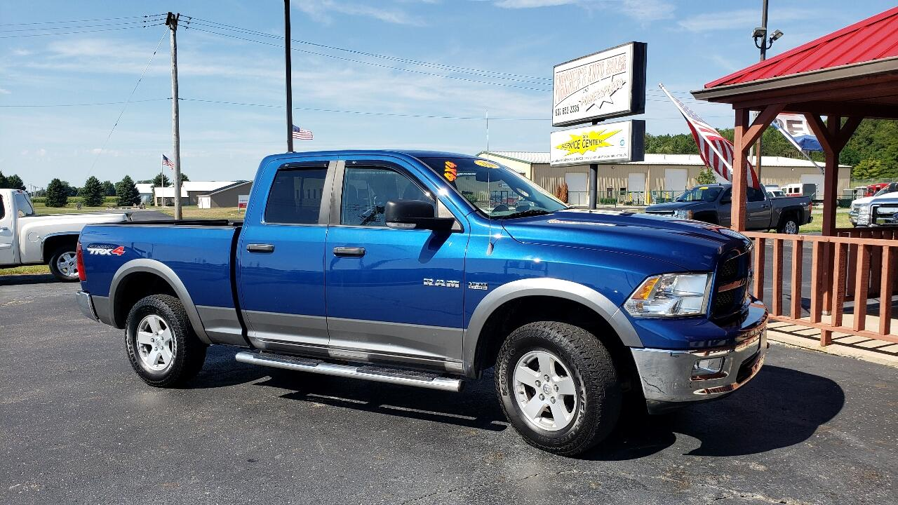 Used 2010 RAM 1500 TRX Quad Cab 4WD for Sale in Urbana OH ...