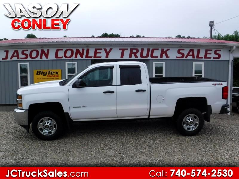 2015 Chevrolet Silverado 2500HD 4WD Double Cab 144.2