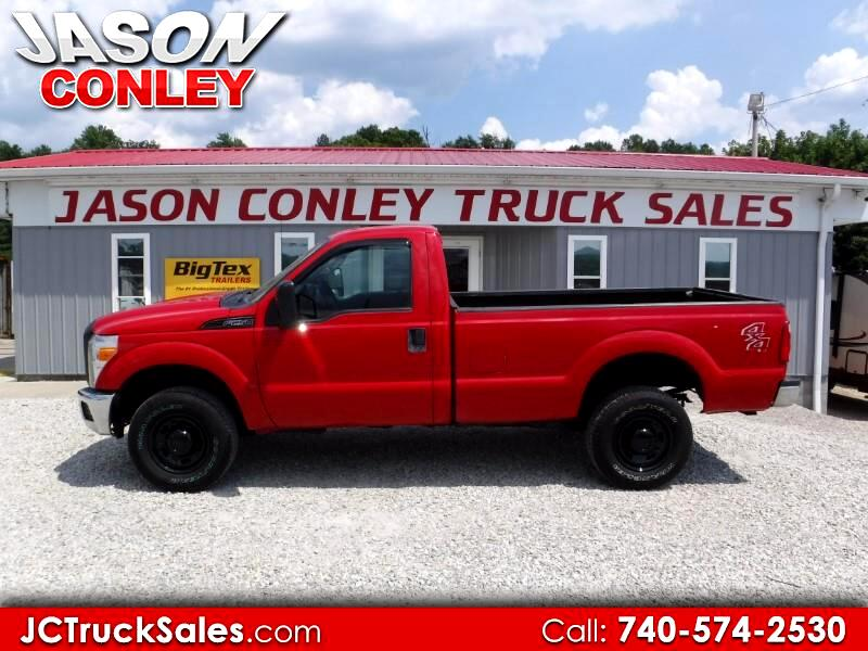 2014 Ford Super Duty F-250 SRW 4WD Reg Cab 137
