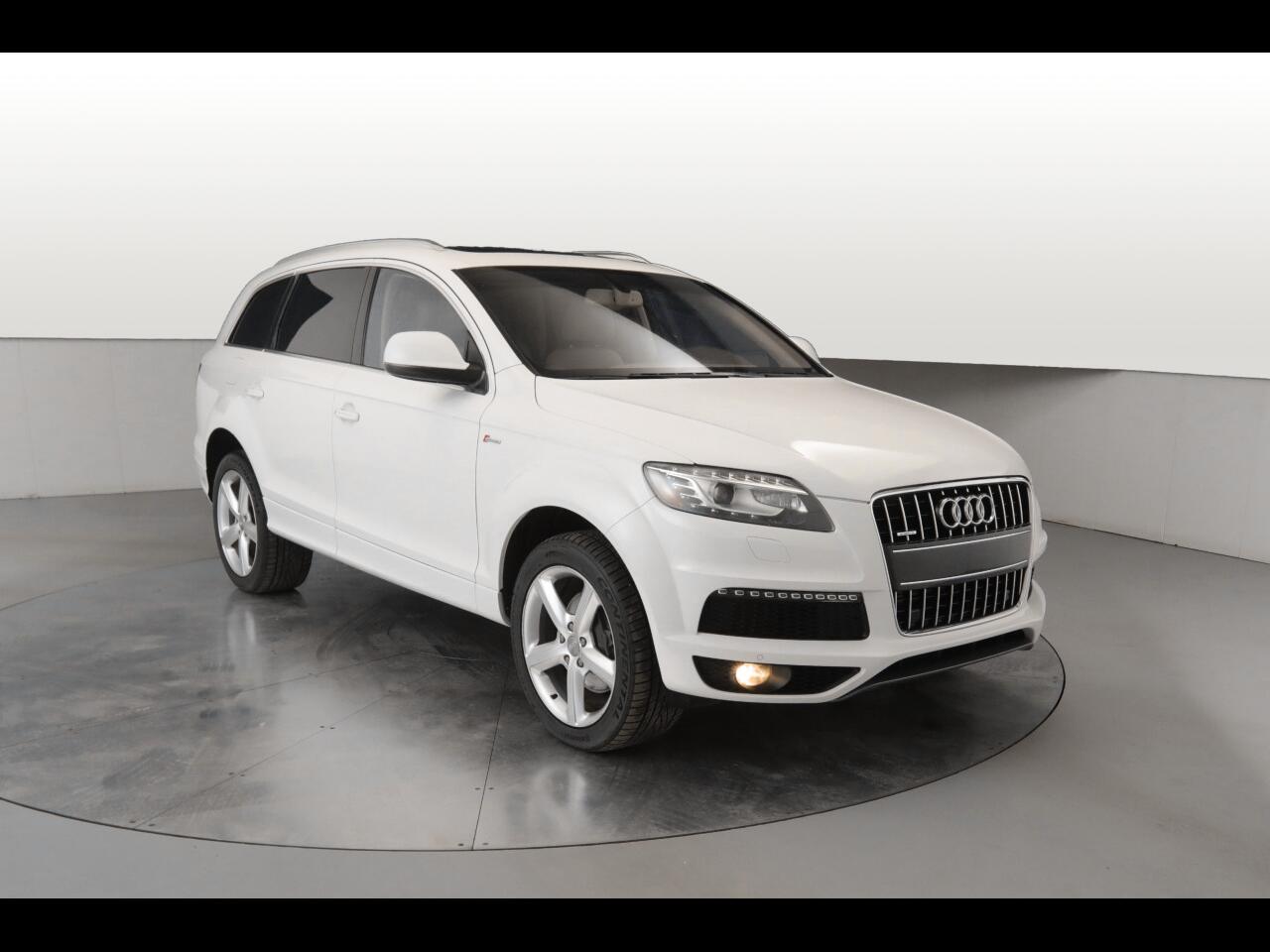 Audi Q7 3.0 S Line Prestige quattro 2014