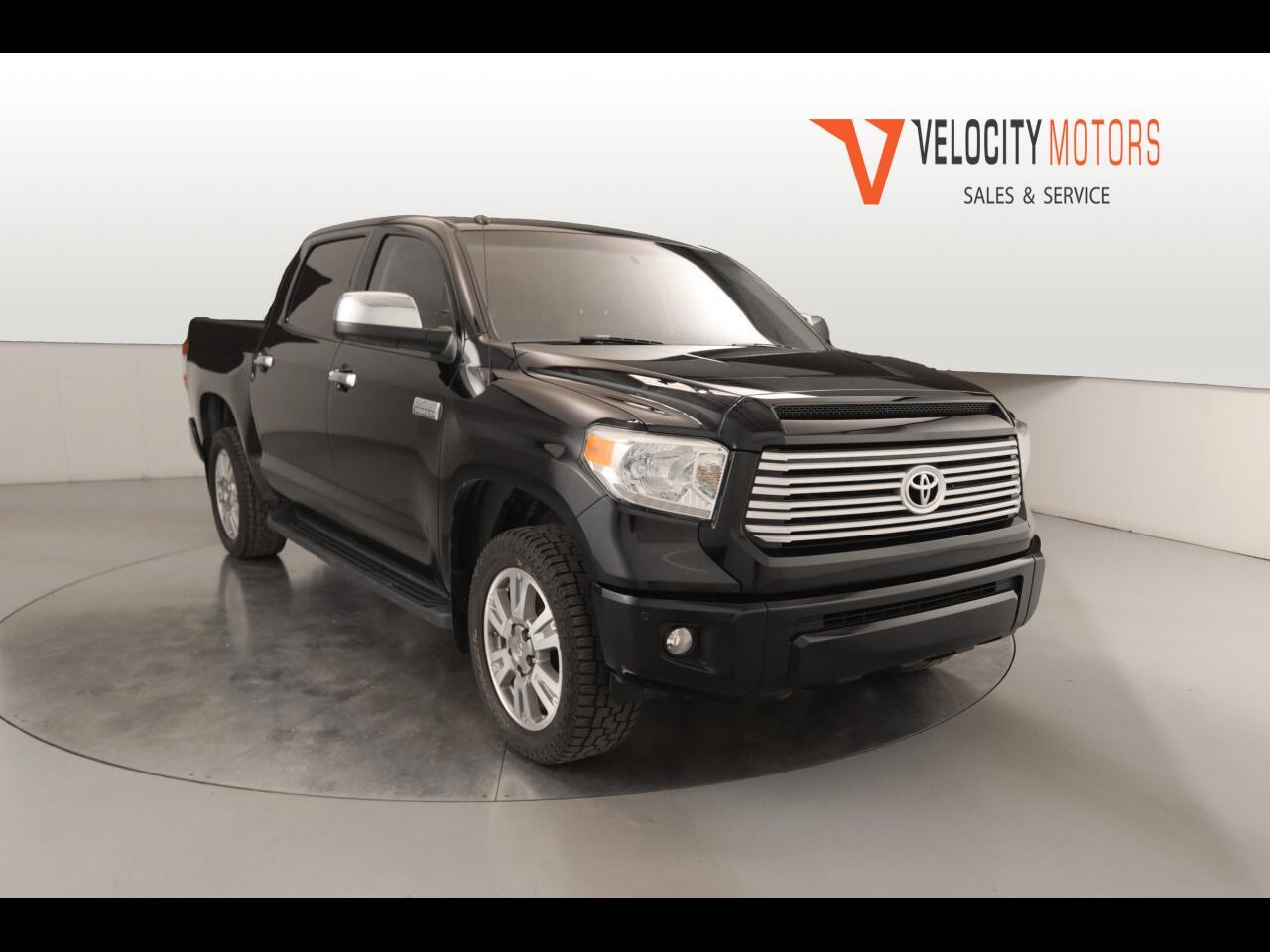 Toyota Tundra Platinum CrewMax 5.7L 4WD 2014