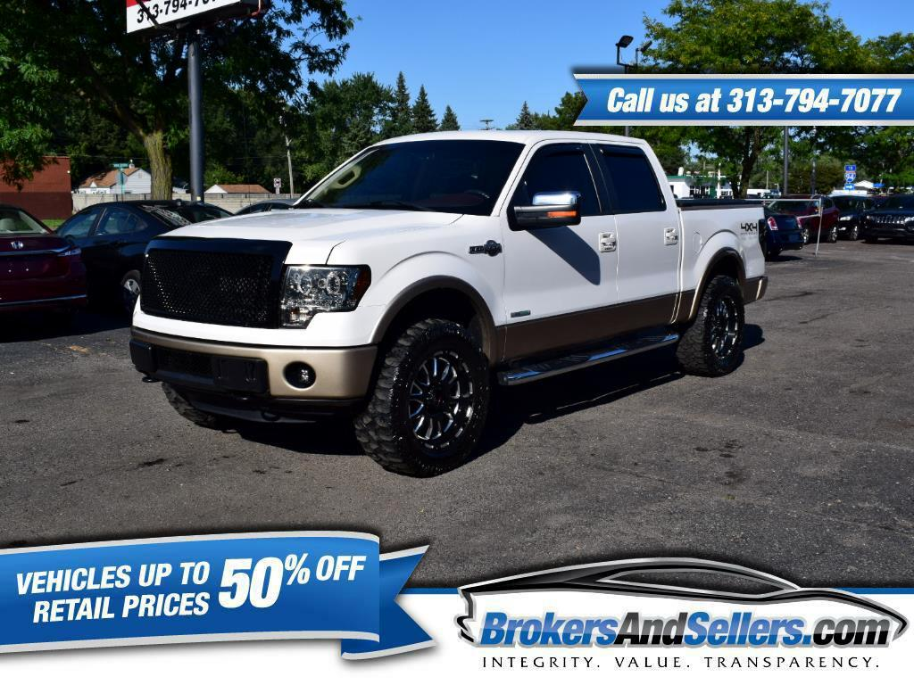 2012 Ford F-150 King Ranch 4WD SuperCrew 5.5' Box