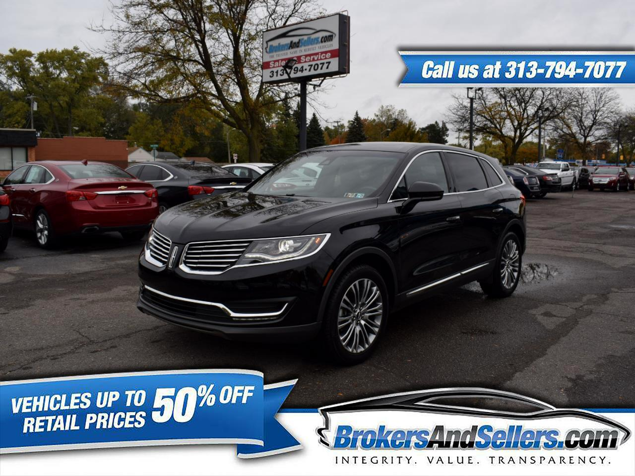 Used Cars For Sale Taylor Mi 48180 2007 Mkx Fuel Filter 2017 Lincoln Reserve Awd