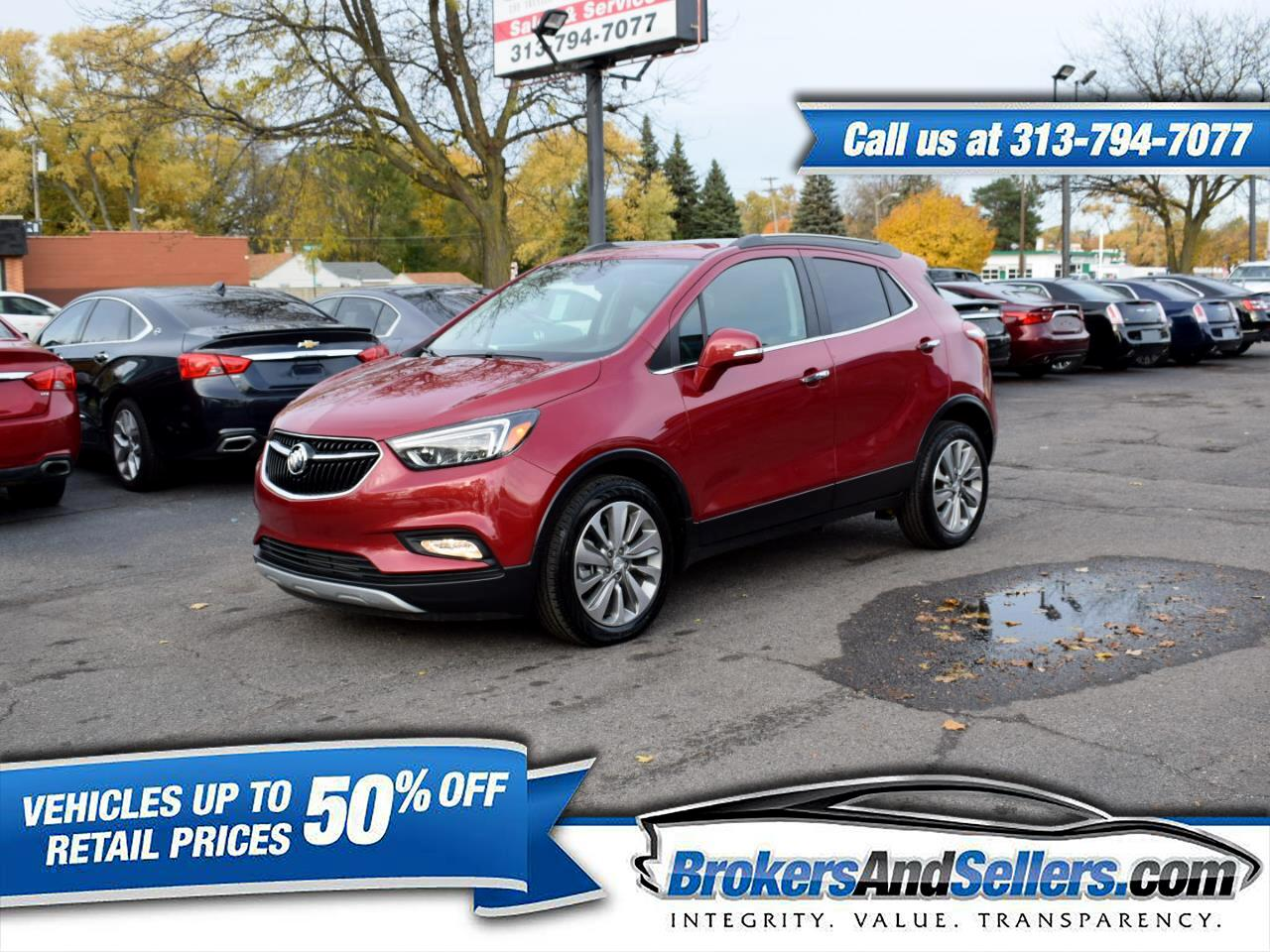 2017 Buick Encore Essence FWD