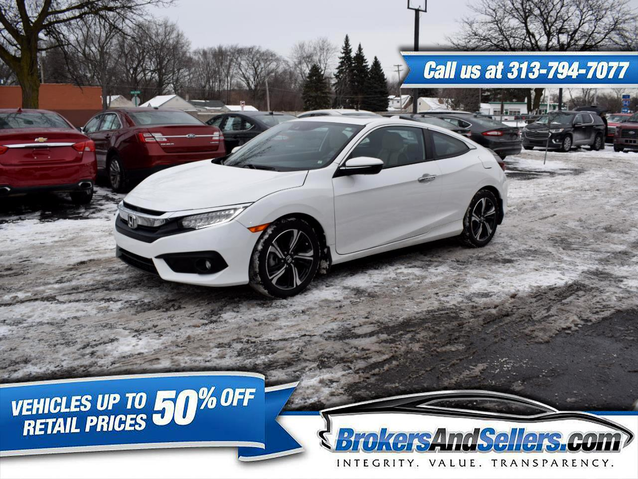 2016 Honda Civic Touring Coupe CVT