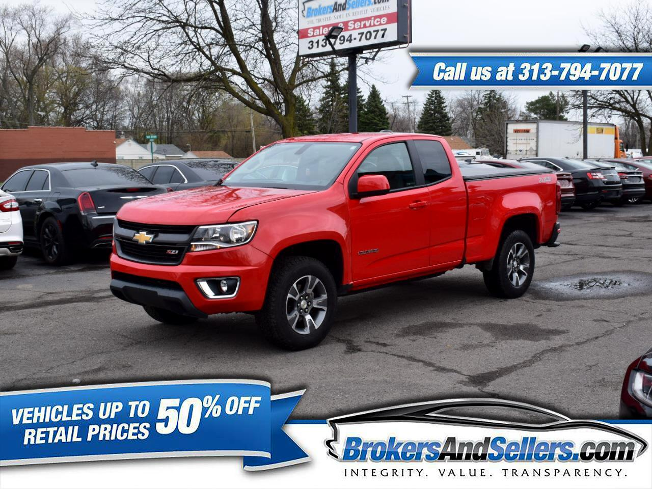 2016 Chevrolet Colorado Z71 Ext. Cab 4WD