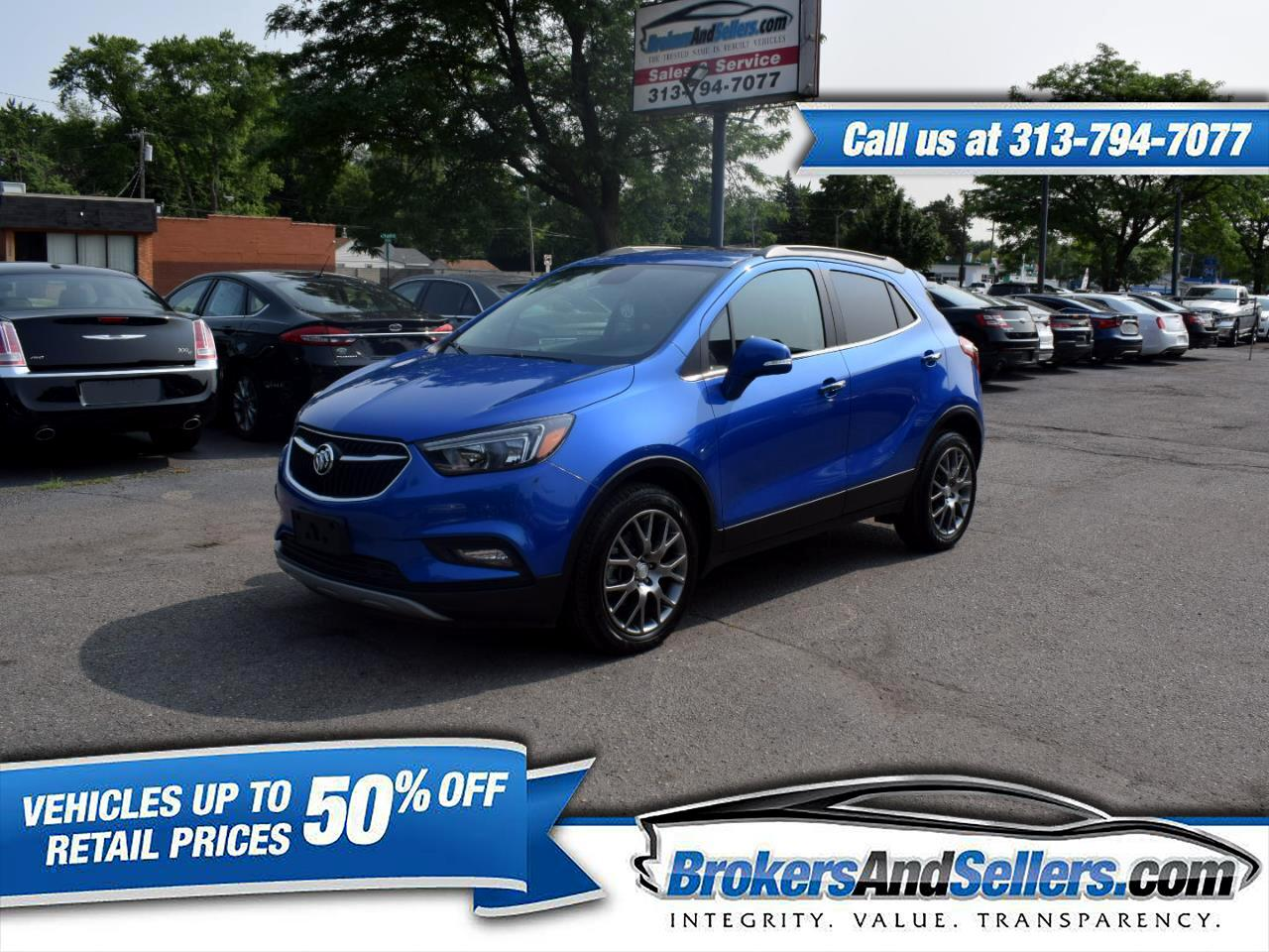 2017 Buick Encore Sport Touring FWD