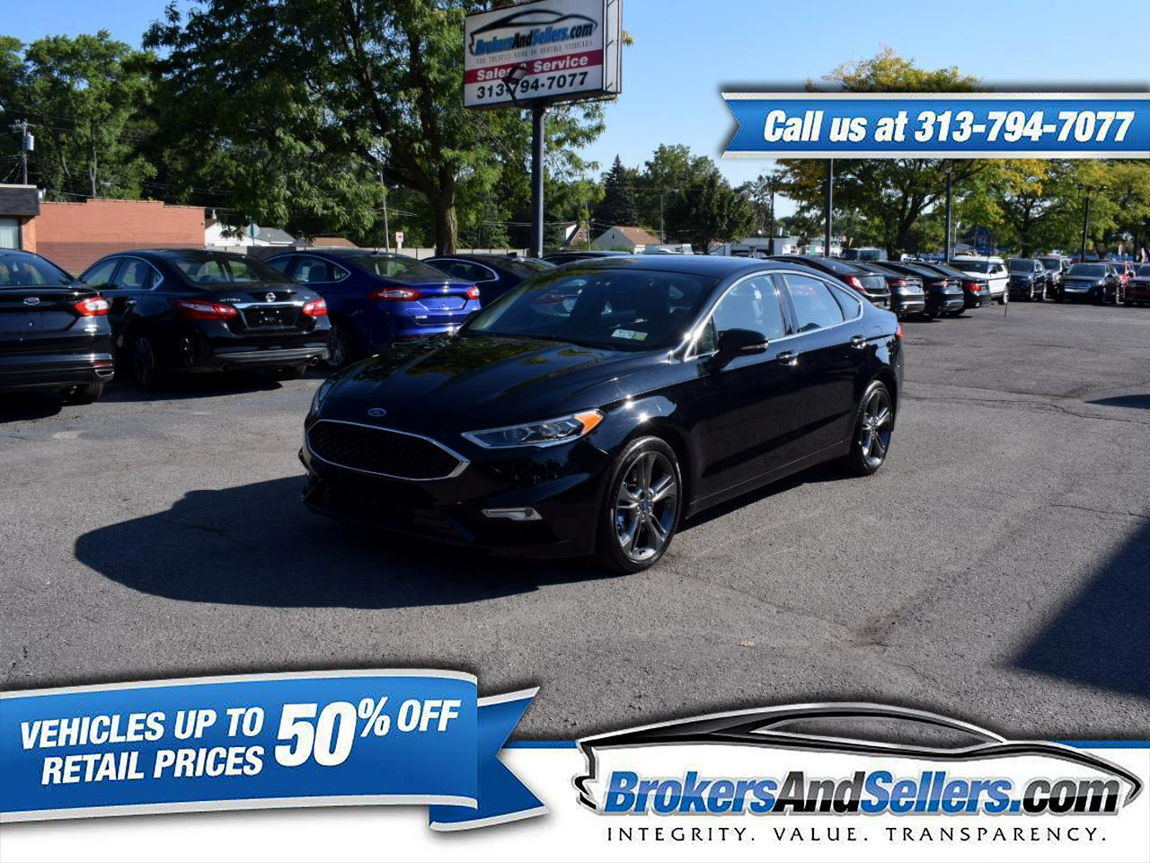 2017 Ford Fusion 4dr Sdn SPORT AWD