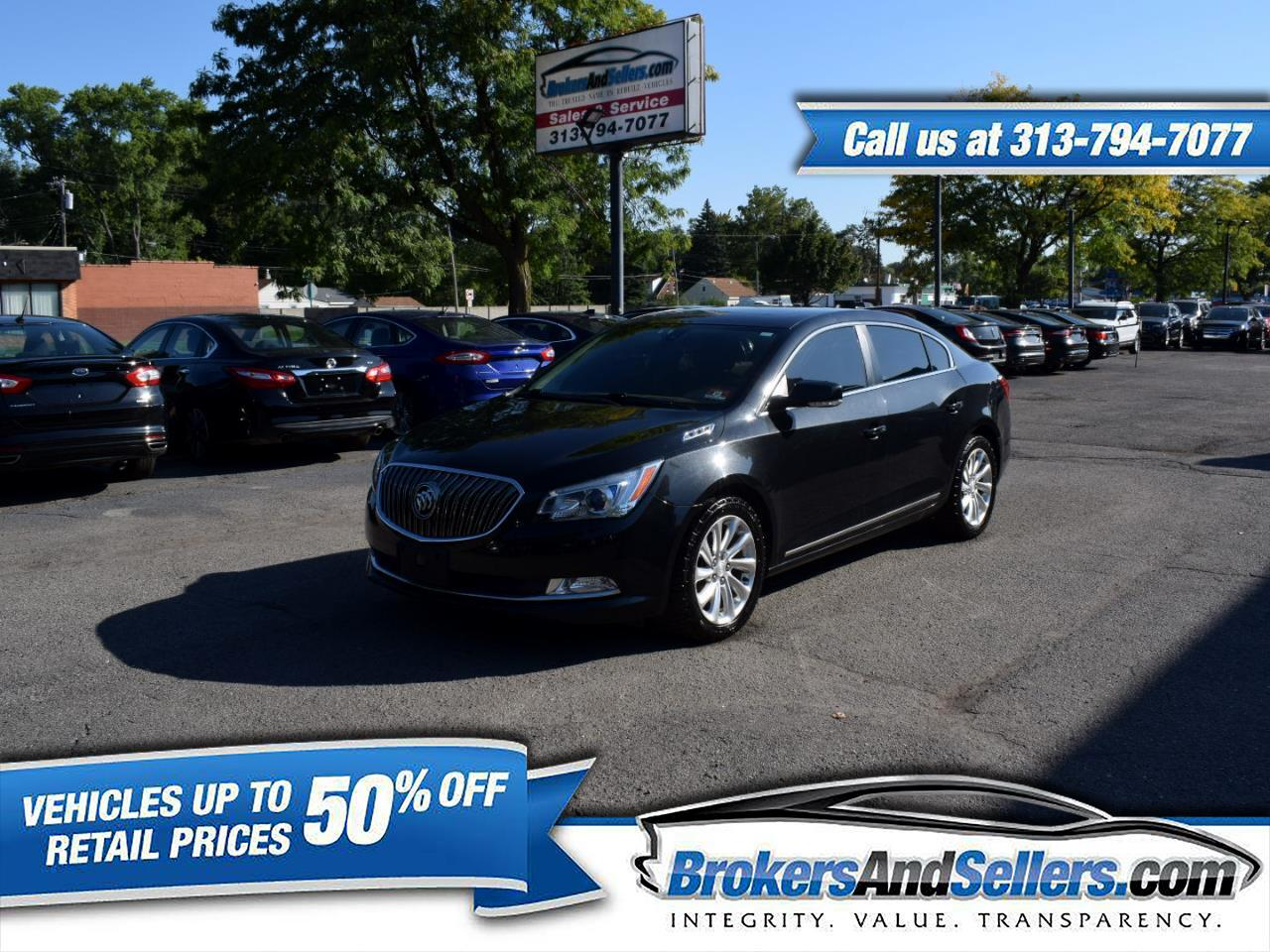 2014 Buick LaCrosse 4dr Sdn Leather FWD