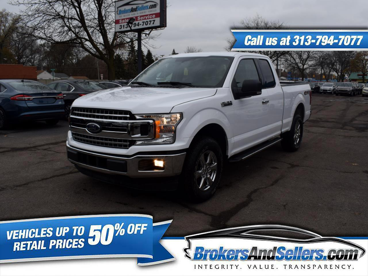 2018 Ford F-150 XLT SuperCab 6.5-ft. Bed 4WD