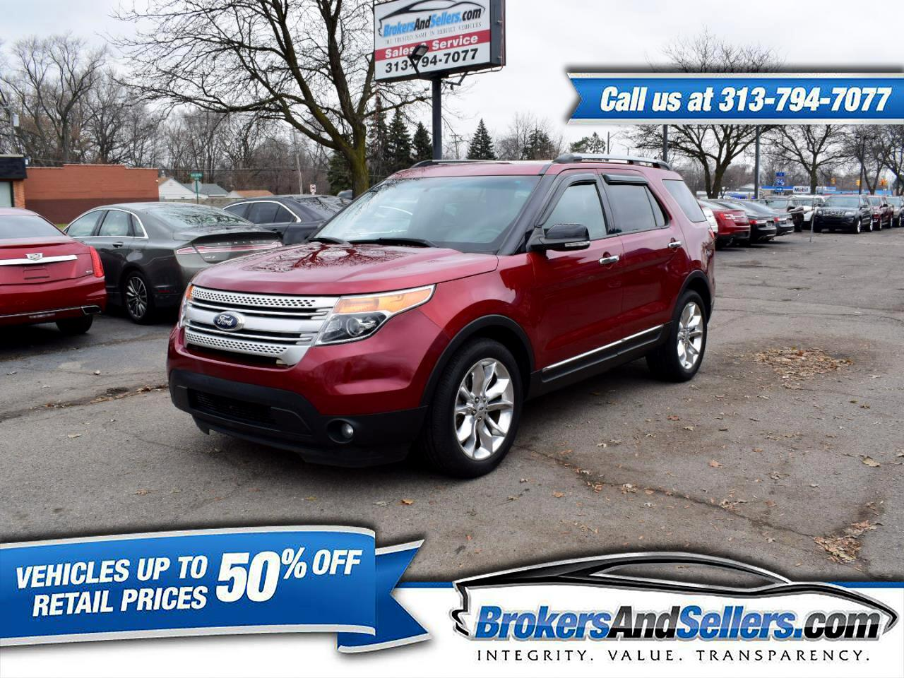 Ford Explorer XLT FWD 2014