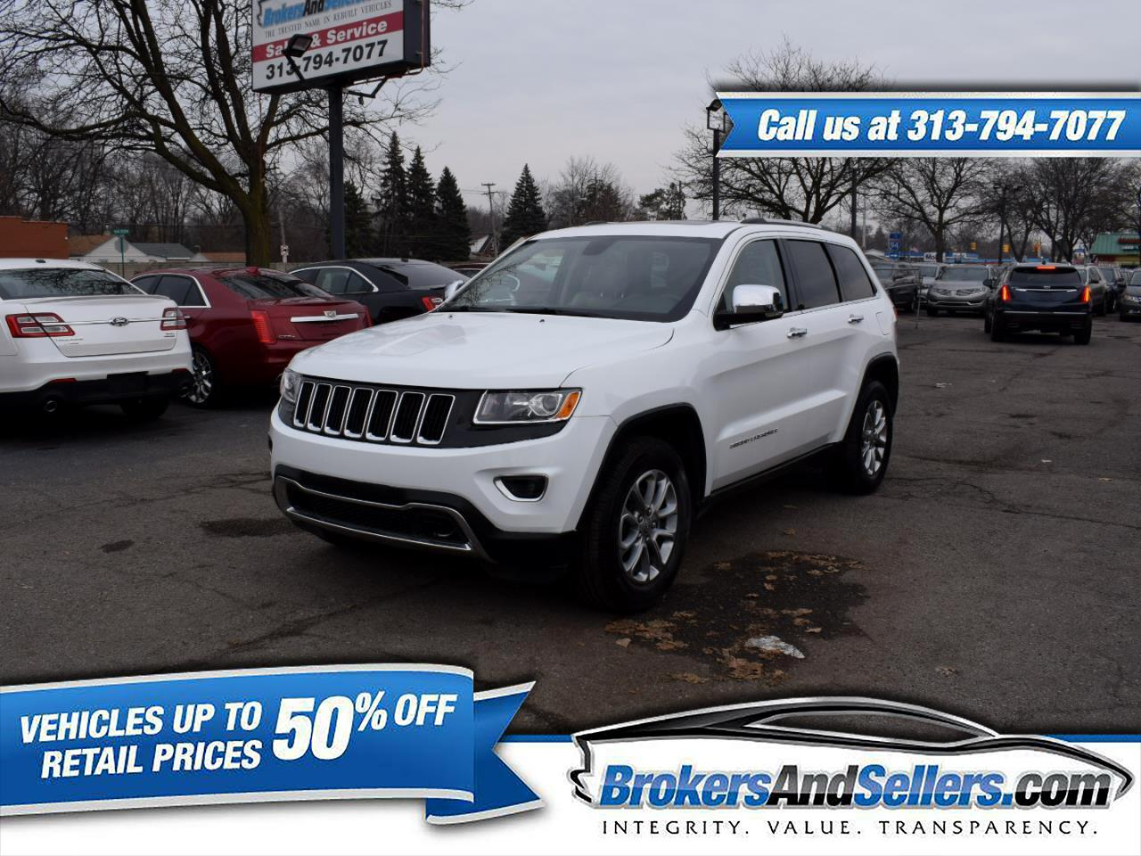 Jeep Grand Cherokee Limited 2WD 2015