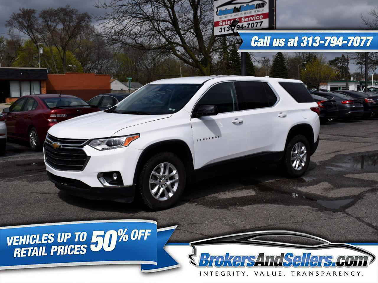 Chevrolet Traverse LS AWD 2019