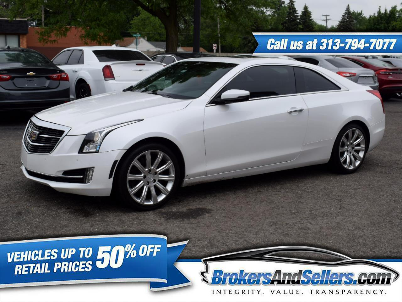 Cadillac ATS Coupe 3.6L Luxury RWD 2016