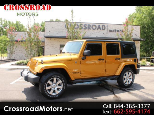 2014 Jeep Wrangler Unlimited Sahara 4WD