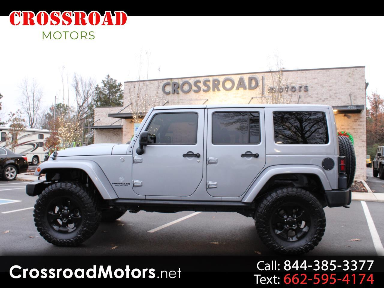 2015 Jeep Wrangler Unlimited 4WD UNLIMITED ALTITUDE EDITION