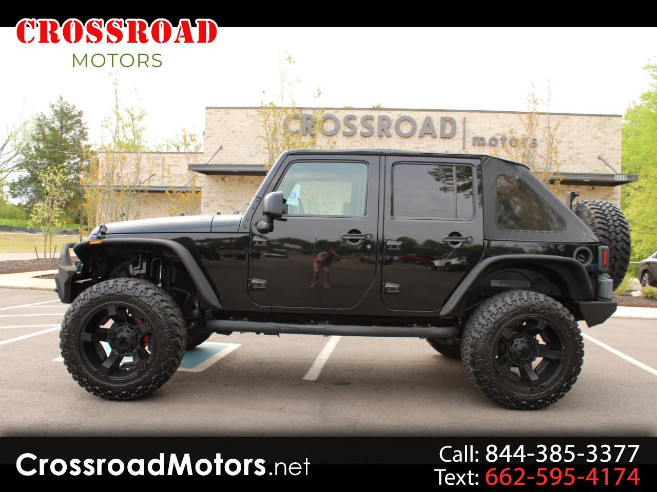 2010 Jeep Wrangler Unlimited RWD 4dr Sport