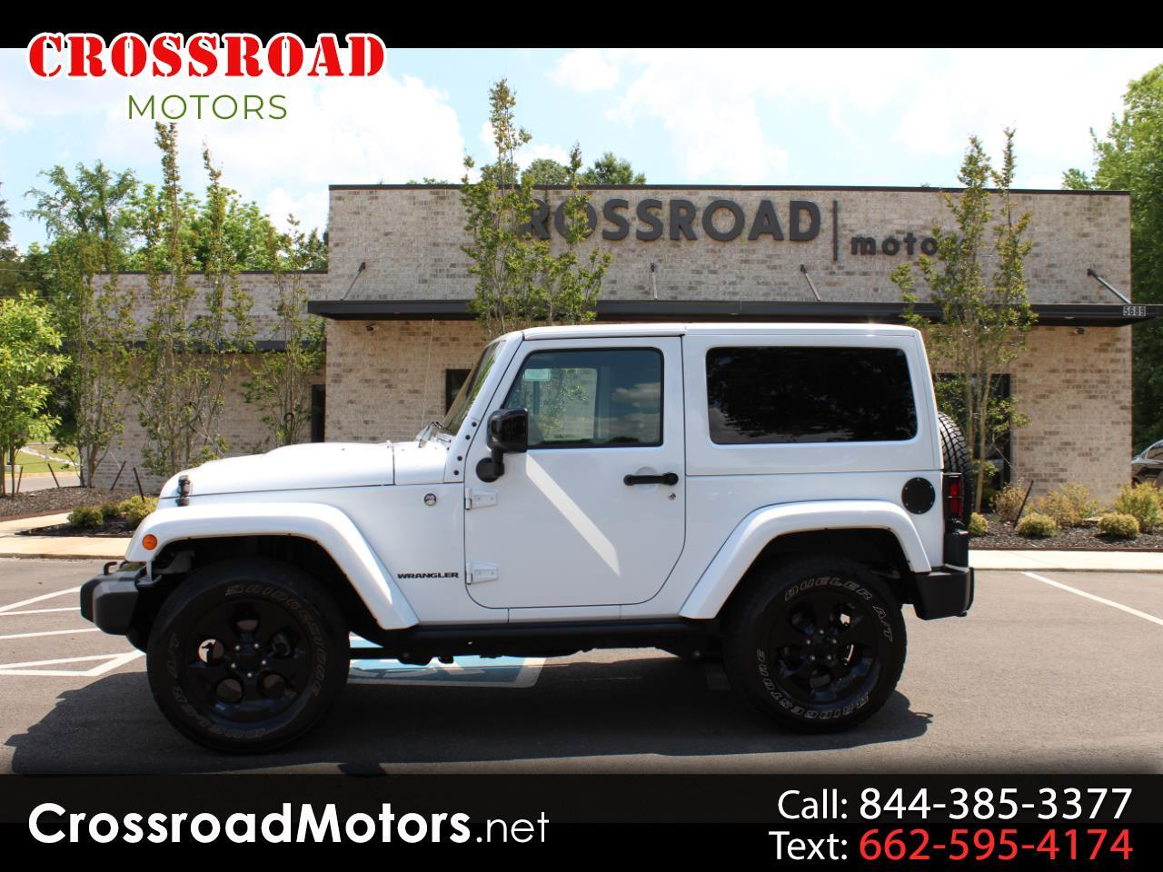 2015 Jeep Wrangler 4WD 2dr Altitude
