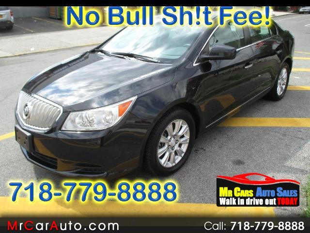 2012 Buick LaCrosse Convenience Package