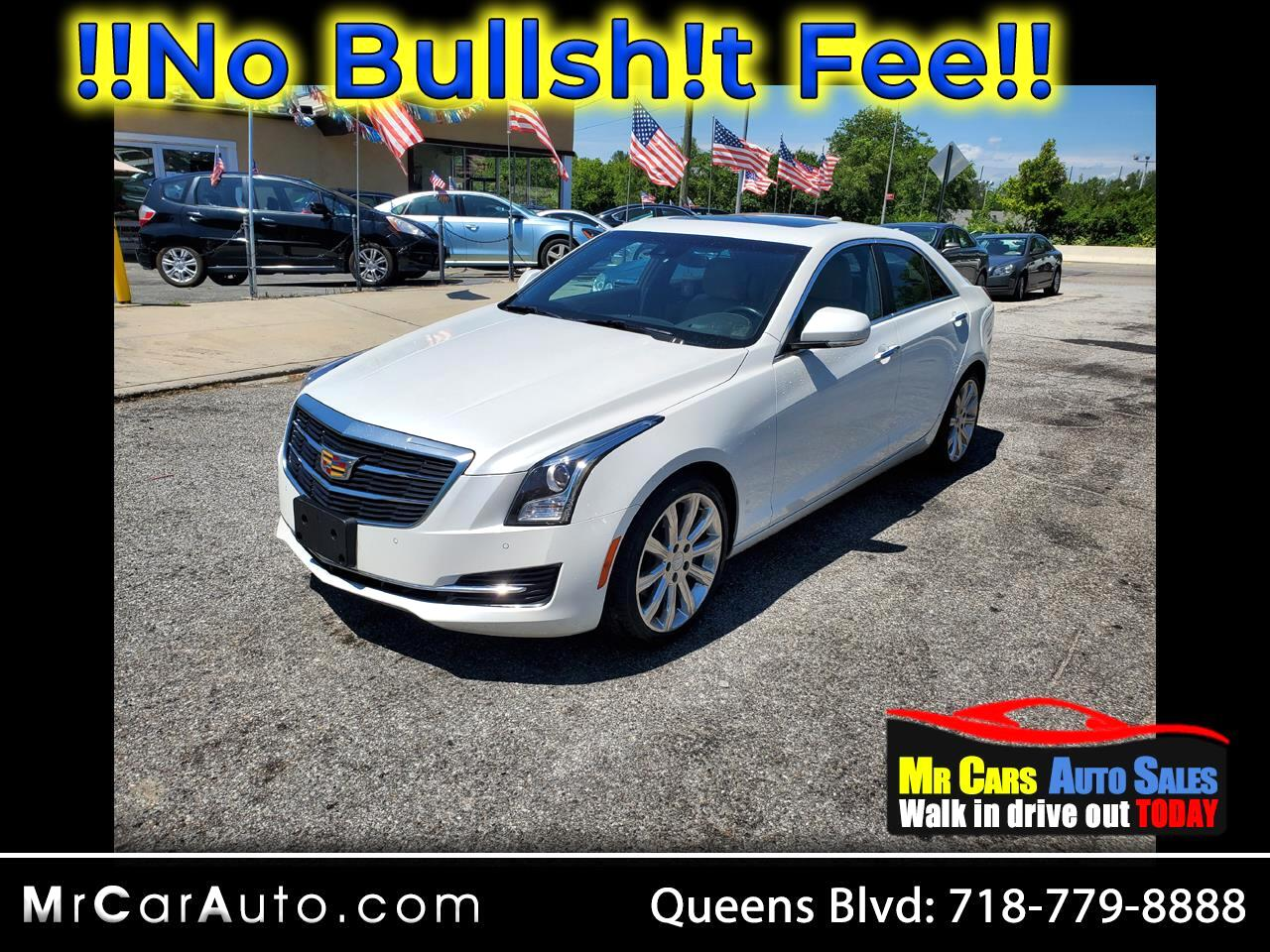 Cadillac ATS 2.0L Luxury AWD 2017