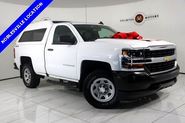 Chevrolet Silverado 1500 Work Truck Long Box 4WD 2016