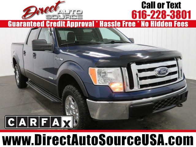 2011 Ford F-150 XLT SuperCrew 6.5-ft Box 4WD