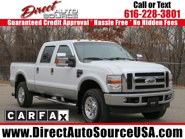 2008 Ford Super Duty F-350 SRW Lariat 4WD Crew Cab 6.75' Box