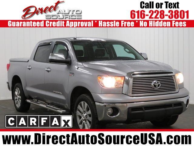 2010 Toyota Tundra 4WD Truck CrewMax 5.7L V8 6-Spd AT LTD (Natl)