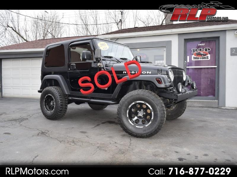 Jeep Wrangler 2dr Rubicon 2003