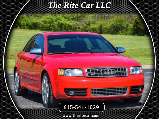 2004 Audi S4 Sport Sedan with Tiptronic