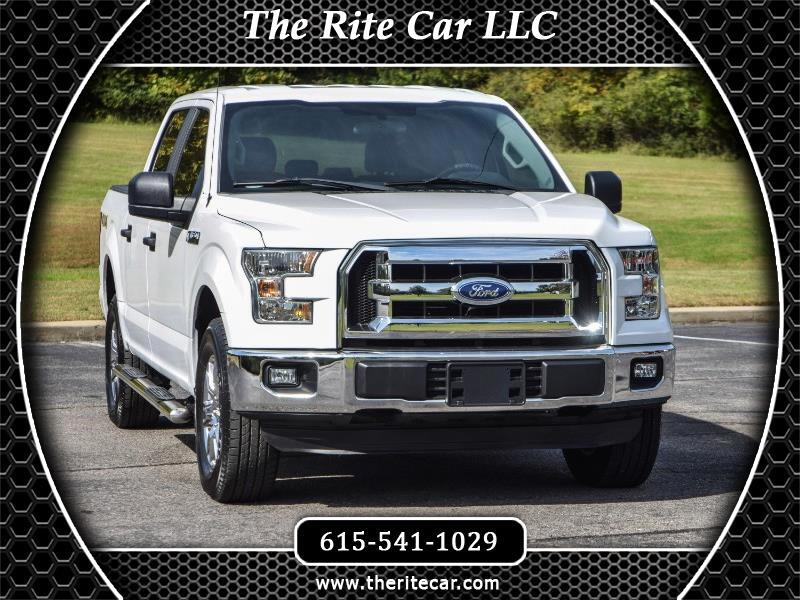 2015 Ford F-150 XL SuperCrew Short Bed 4WD