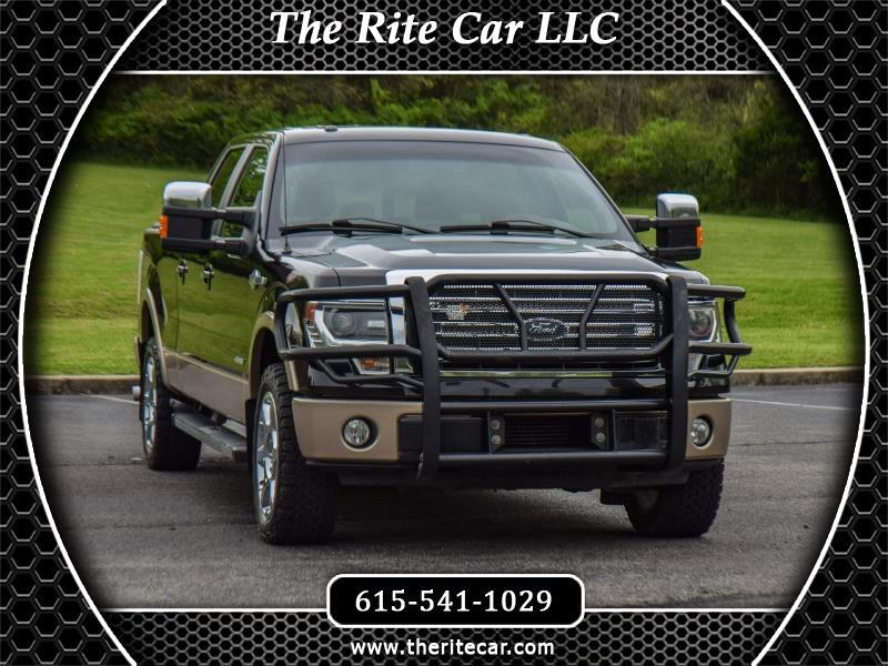 """2013 Ford F-150 SuperCrew 139"""" King Ranch 4WD"""