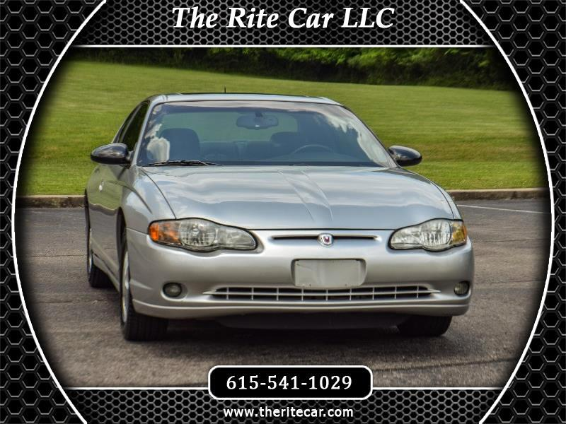 2005 Chevrolet Monte Carlo 2dr Sport Coupe