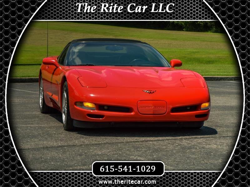 1999 Chevrolet Corvette 2dr Conv w/3LT