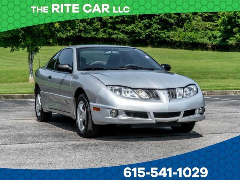 Used 2005 Pontiac Sunfire 2dr Cpe Se For Sale In Nashville Tn 37138 The Rite Car Llc