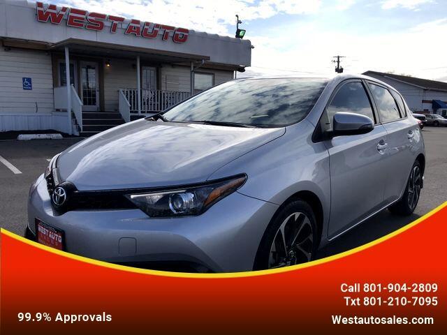 Toyota Corolla iM CVT 2018