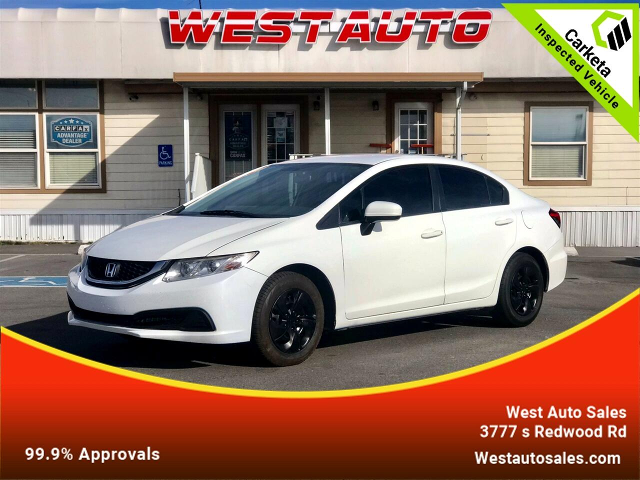 Honda Civic Sedan 4dr Man LX 2014
